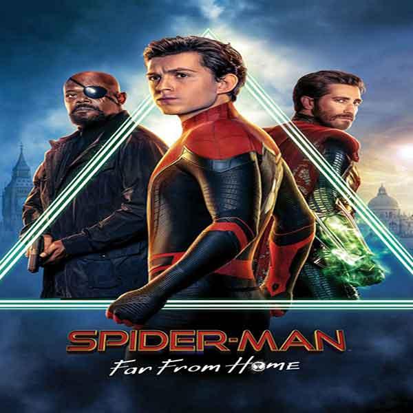 دانلود فیلم Spider Man Far From Home 2019 مرد عنکبوتی دور از خانه با دوبله فارسی