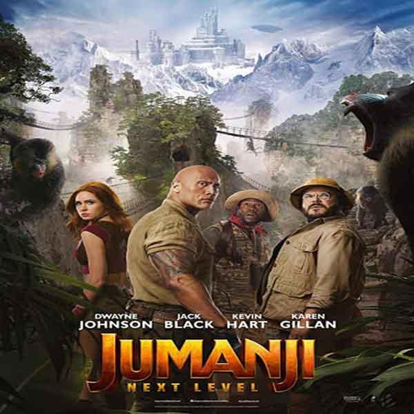 دانلود و تماشای فیلم Jumanji The Next Level 2019 جومانجی مرحله بعدی زیرنویس